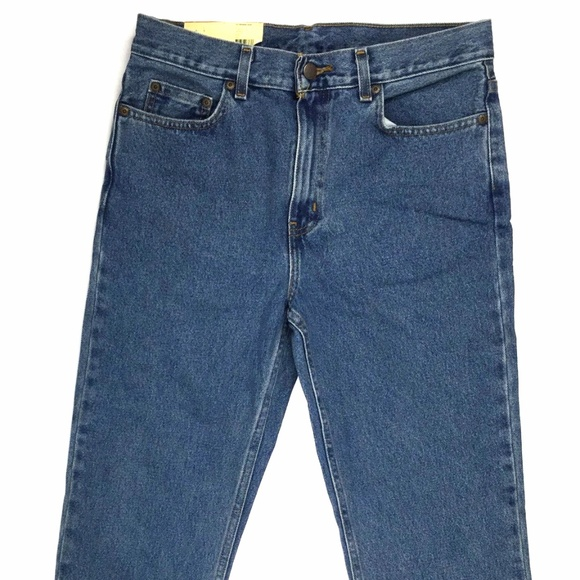 Faded Glory Men/'s Regular Fit Jeans 40X30 Med Wash Classic Fit Straight Leg